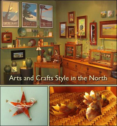 Forest Gallery in Glen Arbor